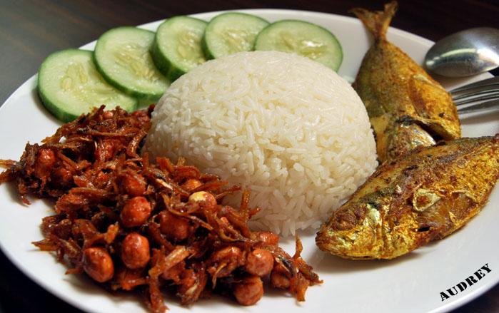 Nasi Lemak – Rice With Coconut Milk   Hungry Peepor